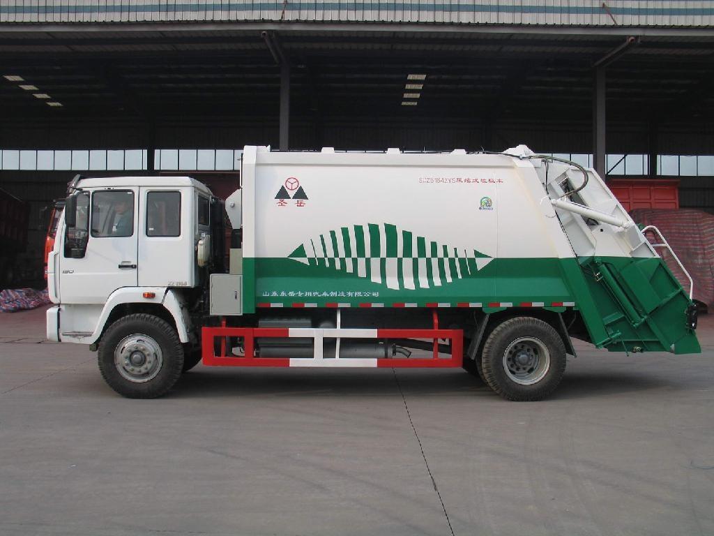 HOWO garbage truck 5
