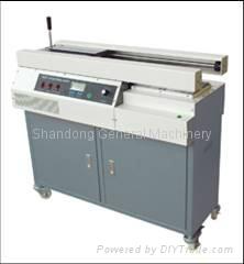 intelligent LCD perfect glue binding machine