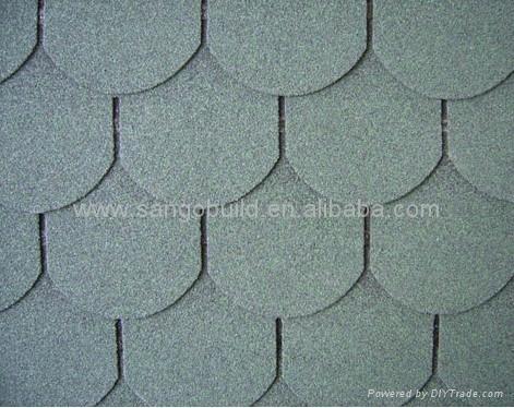 Fish scale asphalt shingle 04 sangobuild or sgb china for Fish scale shingles