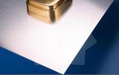 Matt aluminum sheet