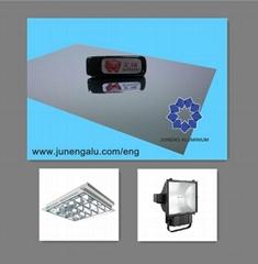 mirror/bright aluminium sheet specialize in office lighting