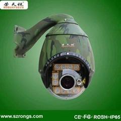 Laser PTZ camera IR  high speed dome camera CCTV camera