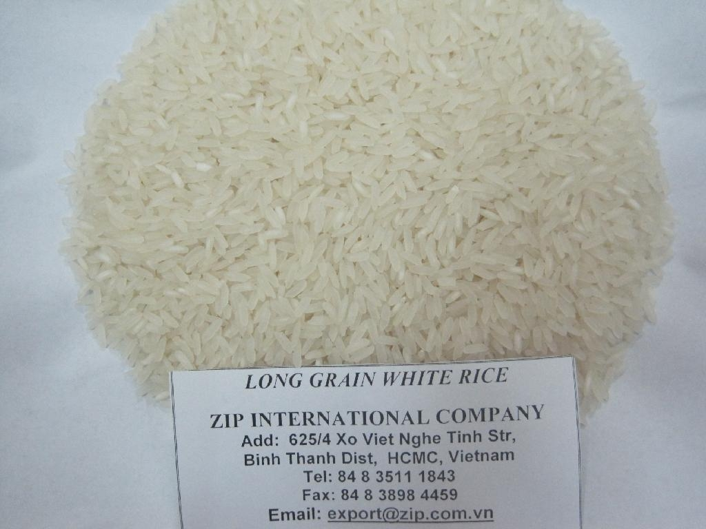 Vietnamese long grain white rice 1