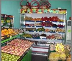 深圳百果園水果保鮮冷藏展示冰櫃