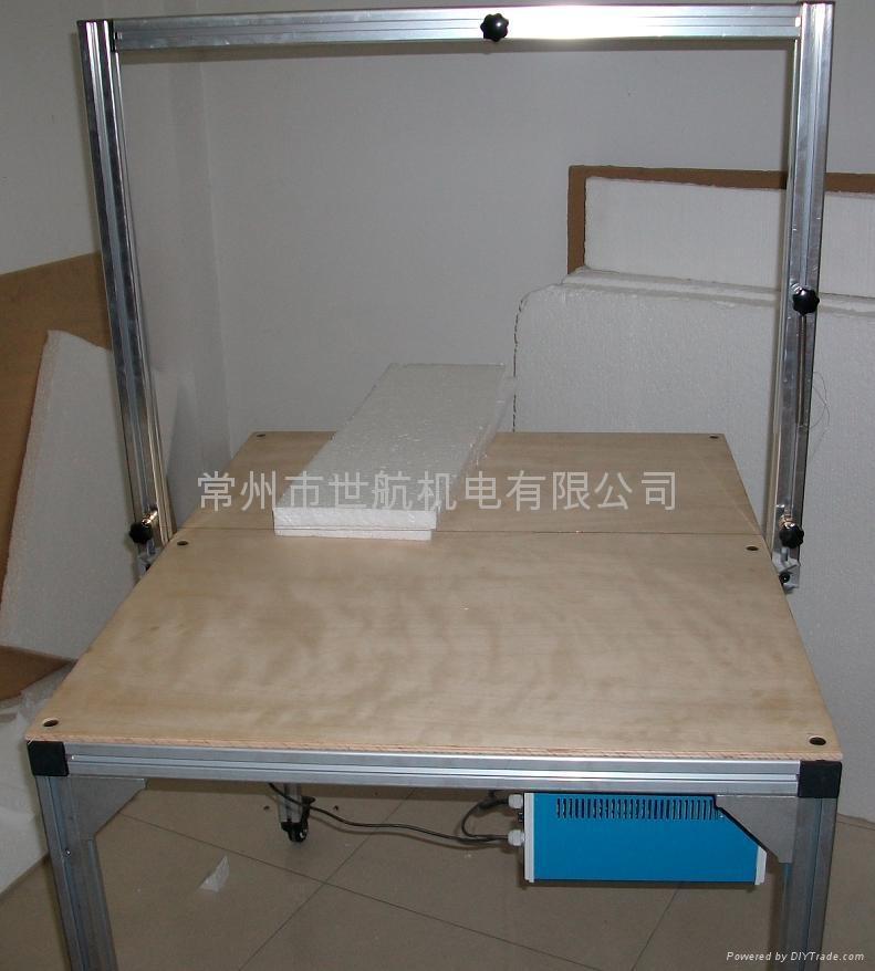 供應海綿分片電熱切割機 1