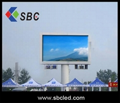 outdoor full color led display with high quality and brightness