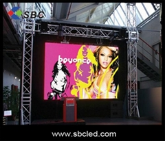 P8 high definition  indoor full color  led  display  screen