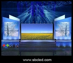 P20 indoor full color stage led display for video show