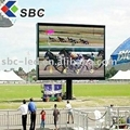 outdoor full color led big display