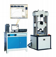 WAW-1000D微機控制電液伺服萬能試驗機