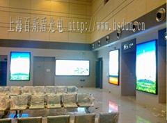 上海金山區地鐵站候車室燈箱