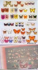 Feather Butterfly Wedding Butterflies Artificial Decorative Brids