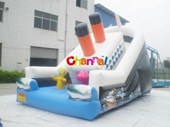 inflatable slide/bouncy slide/inflatable game