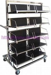 防靜電PCB板挂籃車-管狀式
