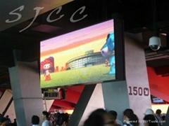 供應奧運會室內P6高清全彩led顯示屏