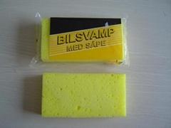 New car sponge