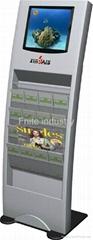 17 inch floor standing advertising player