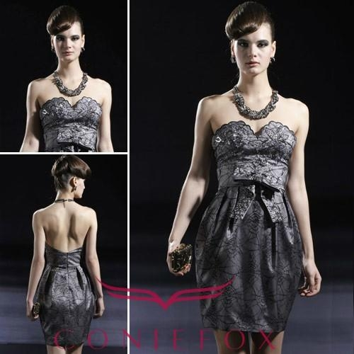 Black Tight wedding dresses 1