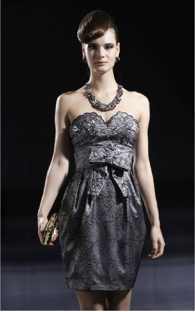 Black Tight wedding dresses 2
