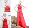 wholesale red empire waist amazing