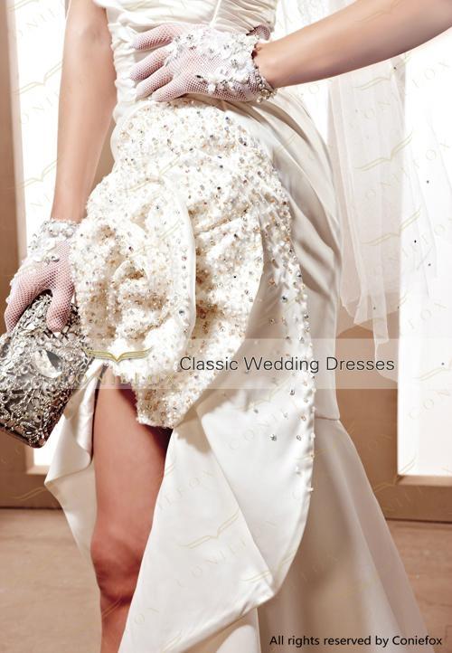 glamorous short custom made wedding dresses 90069 3