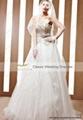 amazing long tail wedding ceremony dresses 90052 1