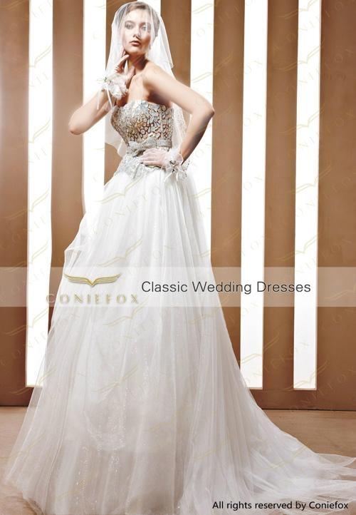 amazing long tail wedding ceremony dresses 90052 4