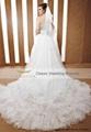 amazing long tail wedding ceremony dresses 90052 5