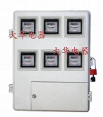 供应电局专用多表位电子机械插卡电表箱