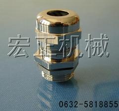 铜镀镍电缆防水接头