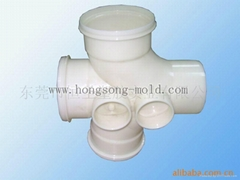 Plastic Injection Mould of pipe fittings mould manufacture from China