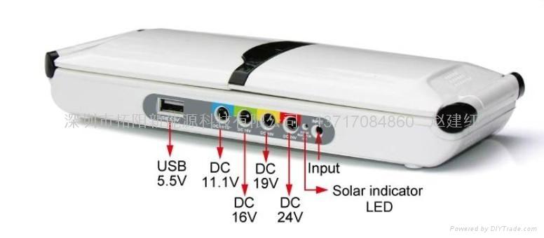 供应多功能太阳能笔记本电脑充电器 2