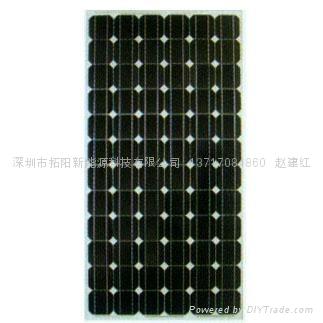 单晶硅175W太阳能电池组件 1