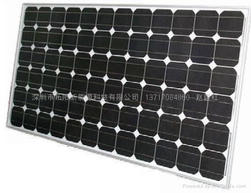 单晶硅175W太阳能电池组件 3