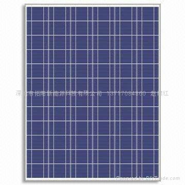 200W多晶硅太阳能电池板 1