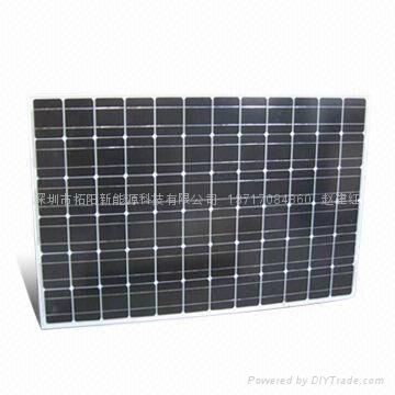 200W多晶硅太阳能电池板 4