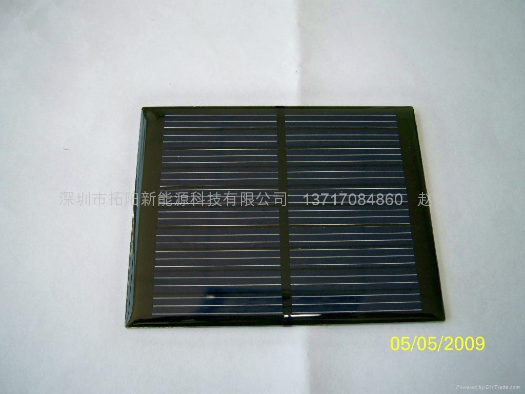 供应滴胶/PET层压太阳能电池板 3