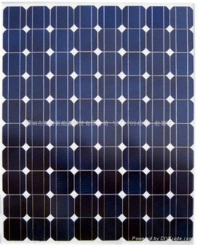 单晶硅250W太阳能电池组件 2