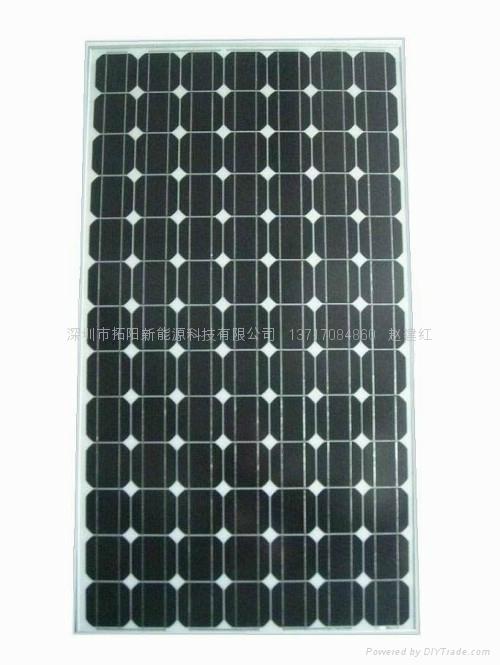 单晶硅250W太阳能电池组件 1