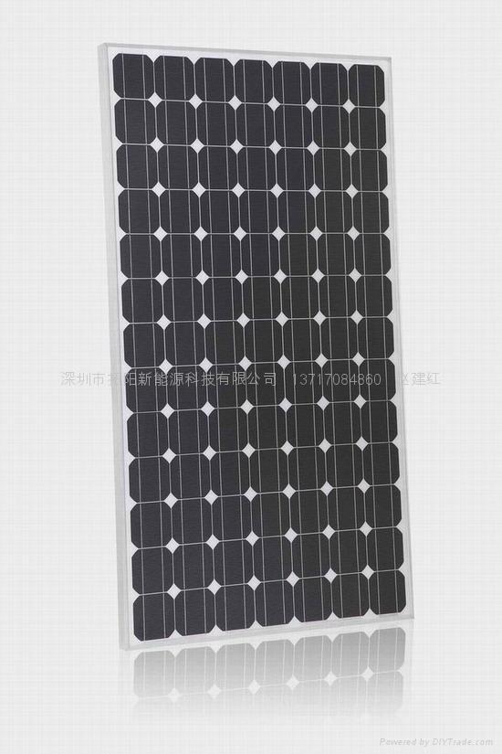 单晶硅250W太阳能电池组件 4