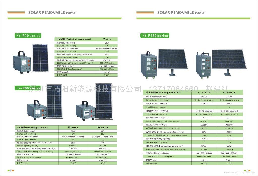供应太阳能发电系统 2