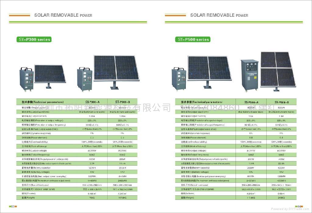 供应太阳能发电系统 4