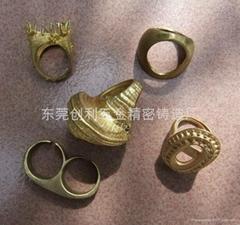 脱蜡铸造铜饰品