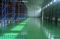 防滑防塵耐磨工業倉庫地坪