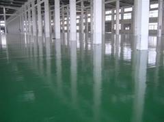 食品廠環氧樹脂地坪