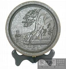 700克圓赤壁工藝品青磚茶