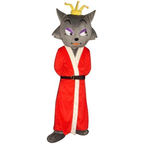 红太狼卡通人偶