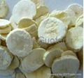 Freeze dried banana slice