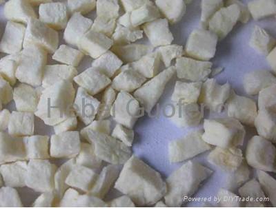 Freeze dried garlic slice 1