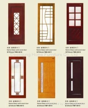 Glass Wooden Door ...
